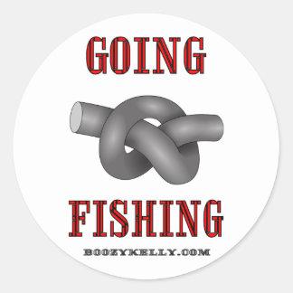 Going Fishing, Oil Field Sticker