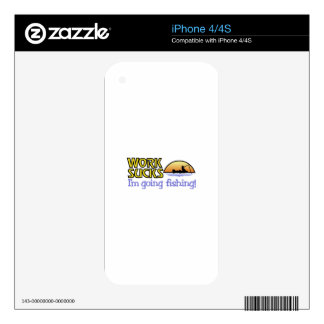 Going Fishing Skins For iPhone 4S