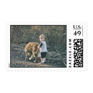 Going for a walk 1999 postage