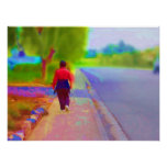 Going for a walk painting posters