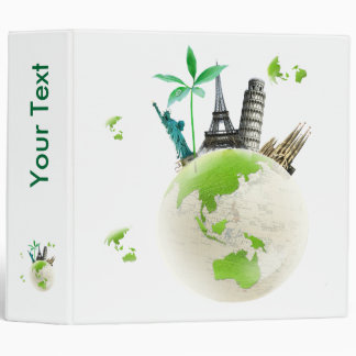 Going for  Green! 3 Ring Binder