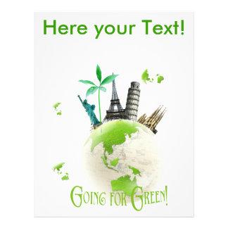 Going for  Green! flyer