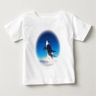 Going for the Breach Killer Whale Baby T-Shirt