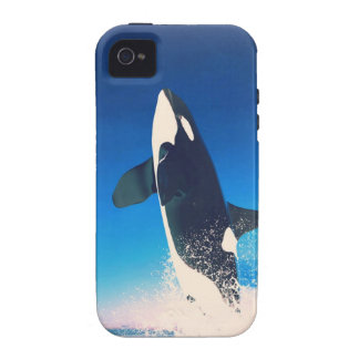 Going for the Breach Killer Whale Case-Mate iPhone 4 Covers
