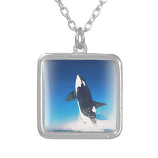 Going for the Breach Killer Whale Custom Necklace