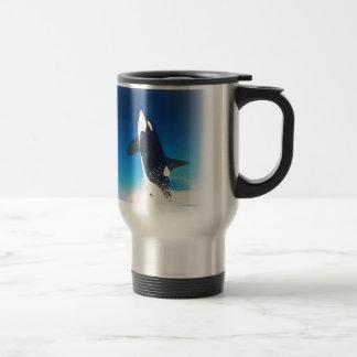 Going for the Breach Killer Whale Travel Mug