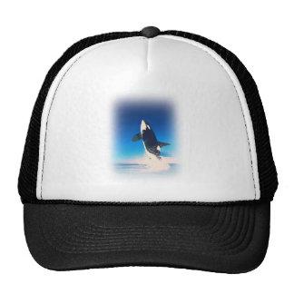Going for the Breach Killer Whale Trucker Hat