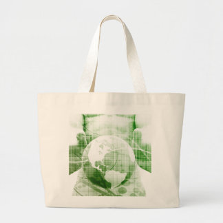 Going Forward with Business Success and Growth Large Tote Bag