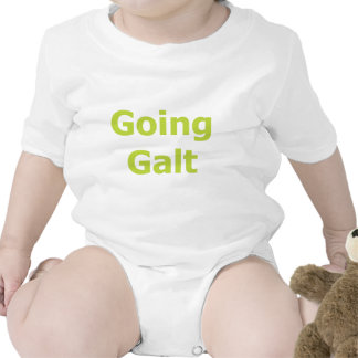 Going Galt Black Tee