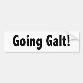 Going Galt Bumper Sticker