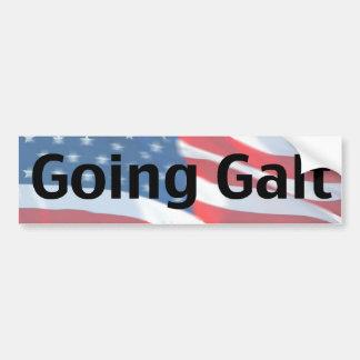 Going Galt Car Bumper Sticker