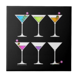 Going, Going, Gone Disappearing Martinis Coaster T