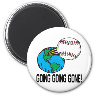 Going Going Gone Refrigerator Magnets