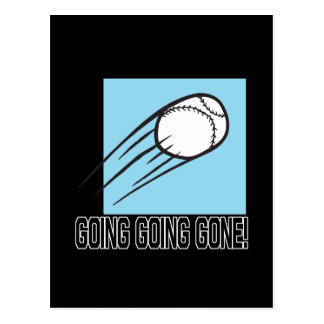 Going Going Gone Postcard
