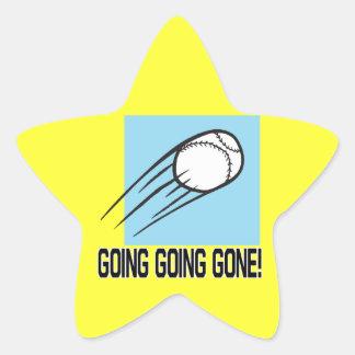 Going Going Gone Star Sticker