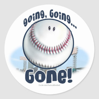 Going, Going Gone! Sticker