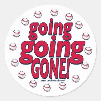 Going Going Gone! Sticker
