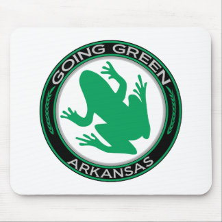 Going Green Arkansas Frog Mouse Pad