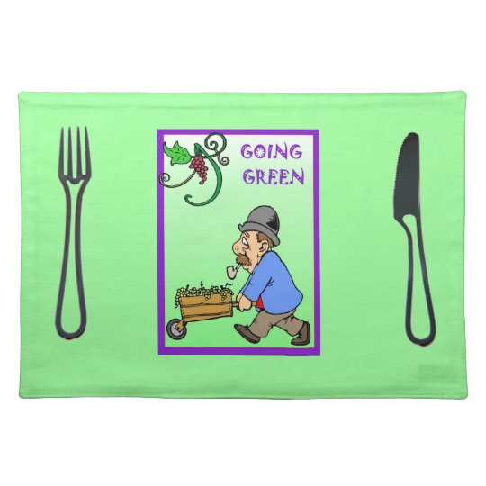 Going Green Cloth Placemat
