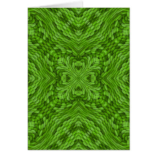 Going Green Colorful Greeting Cards & Envelopes