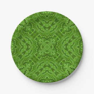 Going Green Colorful Paper Plates