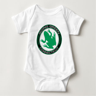 Going Green Connecticut Frog Baby Bodysuit