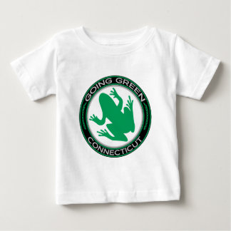 Going Green Connecticut Frog Baby T-Shirt