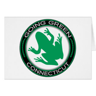 Going Green Connecticut Frog Card