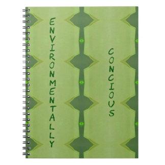 Going Green Environmentally Conscience Notebook