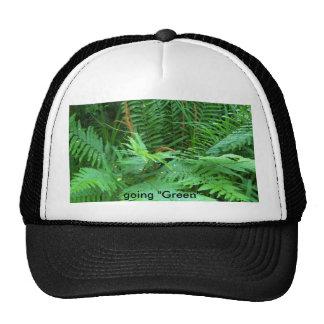 """going """"Green"""" Trucker Hats"""