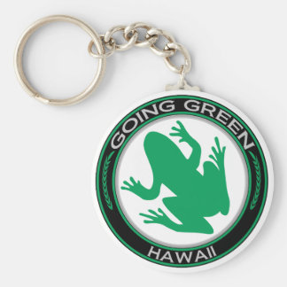 Going Green Hawaii Frog Key Chain