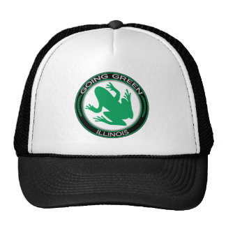 Going Green Illinois Frog Mesh Hat