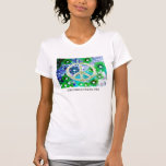 GOING GREEN IS A PEACEFUL THING TSHIRTS
