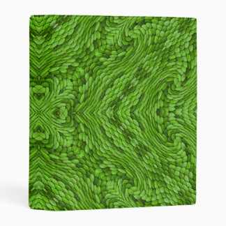 "Going Green Kaleidoscope   Avery Mini 1"" Binder"