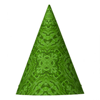 Going Green Kaleidoscope  Customizable Party Hats