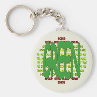 Going Green Keychain