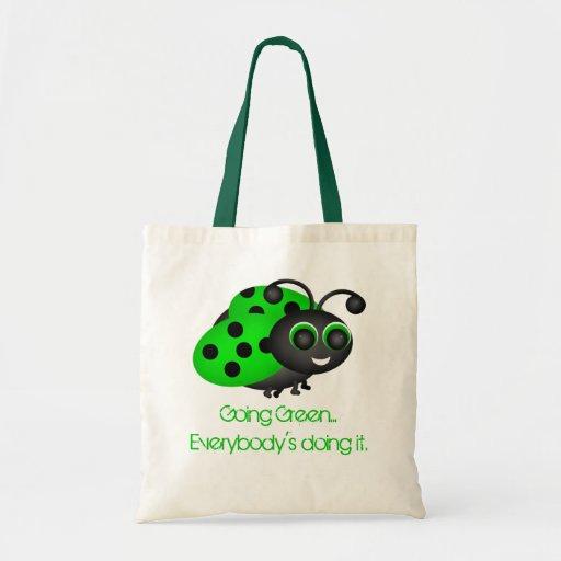 Going Green Ladybug Bag