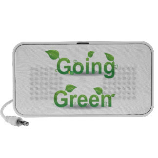 """Going Green"" Leaves Doodle Speaker System"
