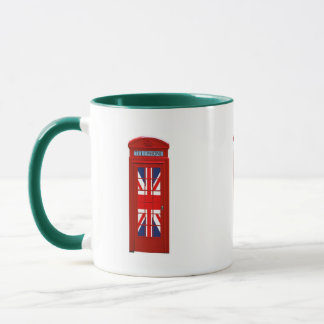 """Going green"" London phone box Mug"