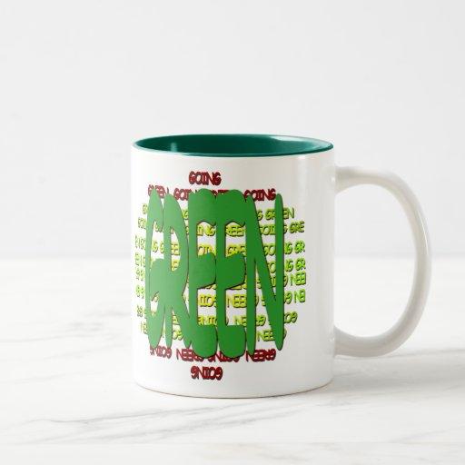Going Green Coffee Mug