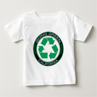 Going Green Recycle California Baby T-Shirt