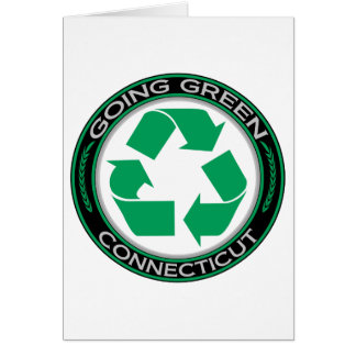 Going Green Recycle Connecticut Card