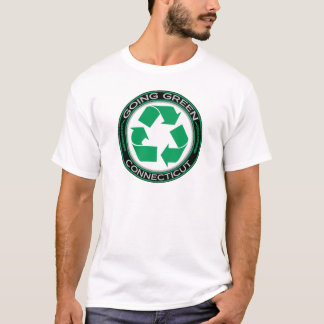 Going Green Recycle Connecticut T-Shirt