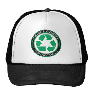 Going Green Recycle Connecticut Trucker Hat