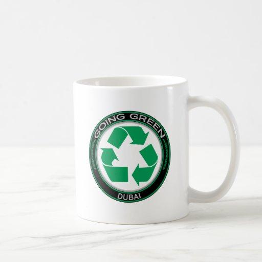 Going Green Recycle DUBAI Mug