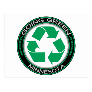 Going Green Recycle Minnesota Post Cards
