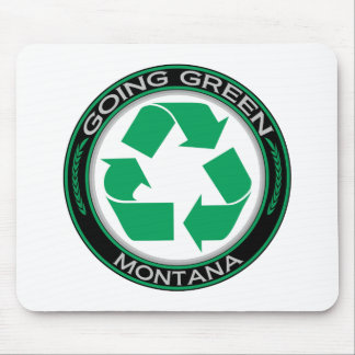 Going Green Recycle Montana Mouse Pad