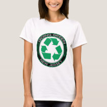 Going Green Recycle New Jersey T-Shirt