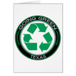 Going Green Recycle Texas Cards