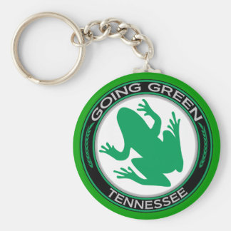 Going Green Tennessee Frog Keychain